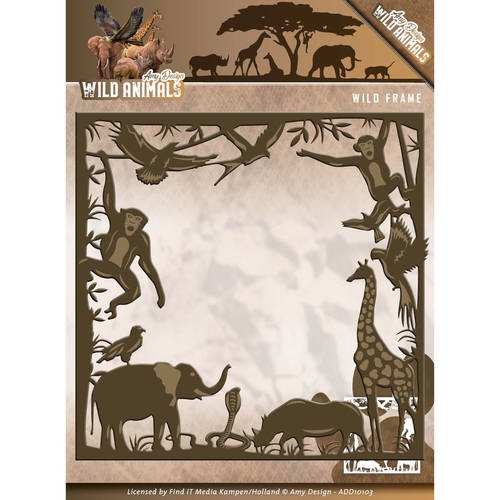 Die - Amy Design - Wild Animals - Wild frame