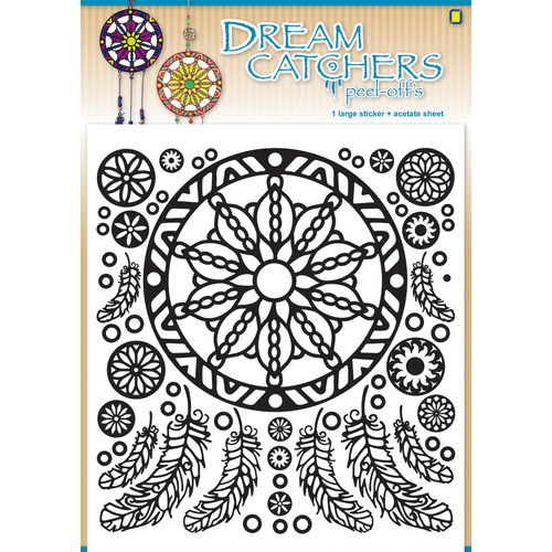 Dream catchers Peel-offs Turquoise