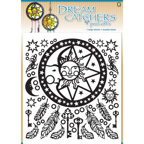 Dream catchers Peel-offsTurquoise