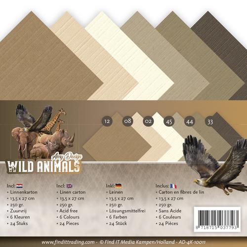 Linnenpakket - 4K - Amy Design - Wild Animals