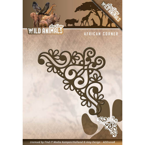 Die - Amy Design - Wild Animals - African Corner