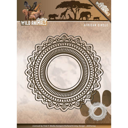 Die - Amy Design - Wild Animals - African Circle