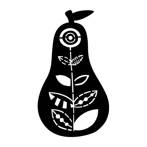 Mask Stencil Pear