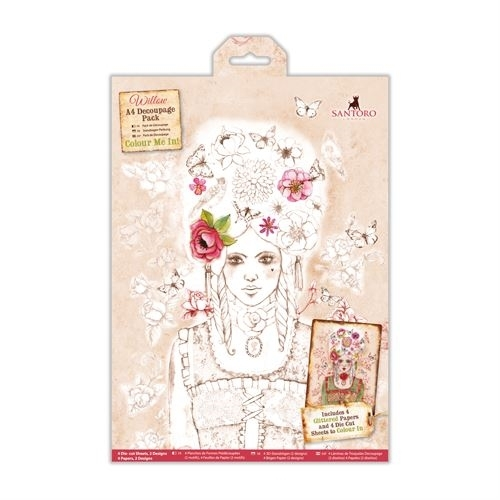 Do-Crafts Papermania A4 Decoupage Pack Santoro for crafts