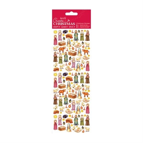 Christmas Stickers - Cute Nativity