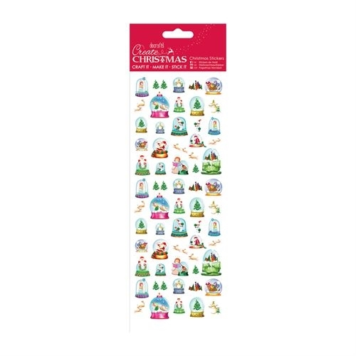 Christmas Stickers - Snowglobes