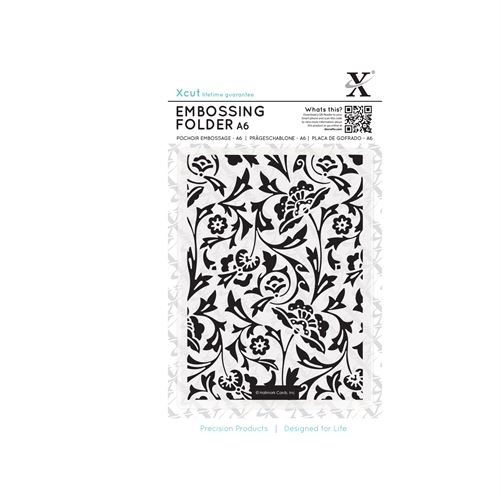 A6 Embossing Folder - Baroque  Florals