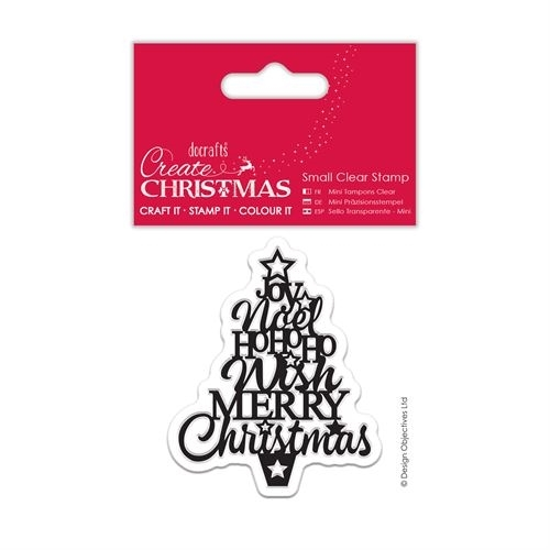 Small Clear Stamps - Christmas Tree