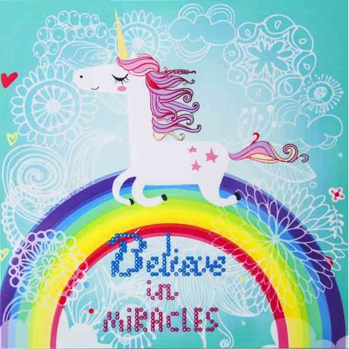 DD3.007 Diamond Dotz® - 25x25cm - Believe in Miracles