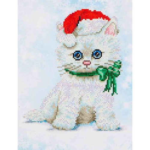 DD5.011 Diamond Dotz® - 27x35cm - Chrissy Kitty