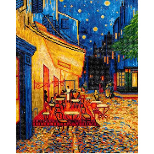 DD10.005 Diamond Dotz® - 52x42cm - Café at Night (Van Gogh)