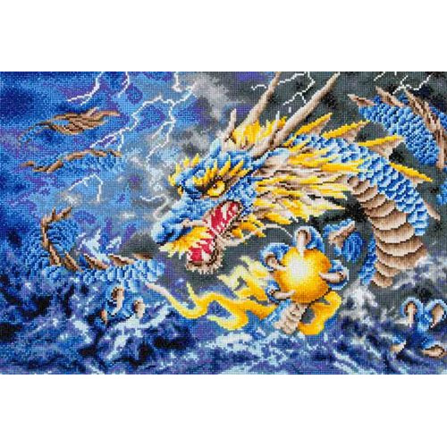 DD12.007 Diamond Dotz® - 68x47cm - Mythical Dragon