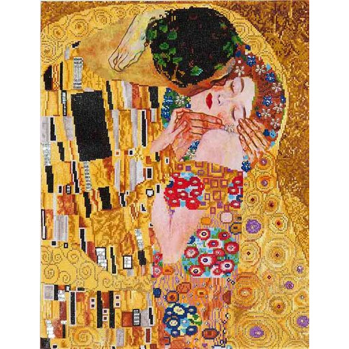 DD13.001 Diamond Dotz® - 56x71cm - The Kiss (Klimpt)