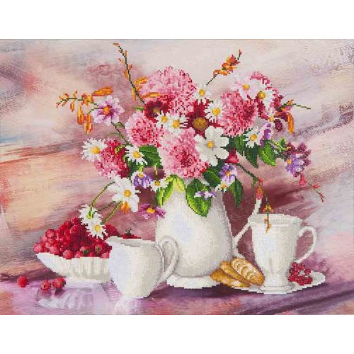 DD13.002 Diamond Dotz® - 72x56cm - Romantic Tea Time