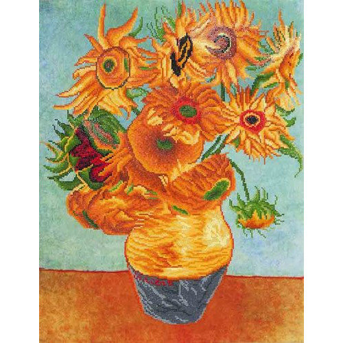 DD13.011 Diamond Dotz® - 71x56cm - Sunflowers (Van Gogh)