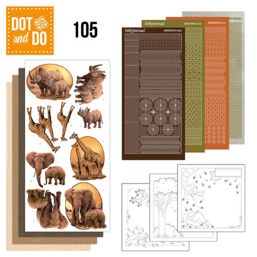Dot and Do 105 - Wild Animals