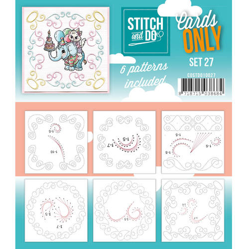 Stitch & Do - Cards only - Set 27