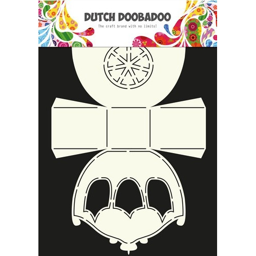 Dutch Doobadoo Dutch Box Art stencil koets A4 470.713.037 (05-17)