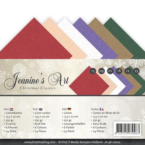 Linnenpakket - 4K - Jeaninnes Art - Christmas Classics