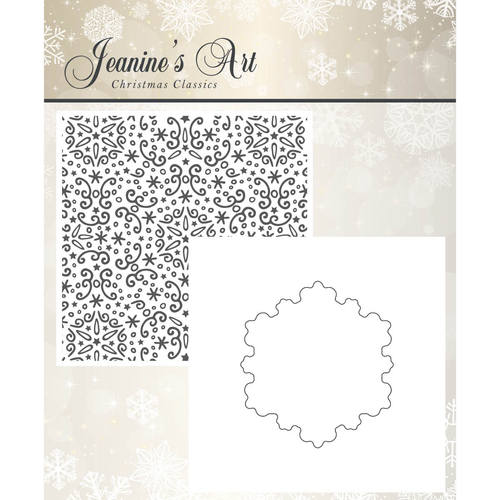 Embossing Folder - Jeaninnes Art - Christmas Classics