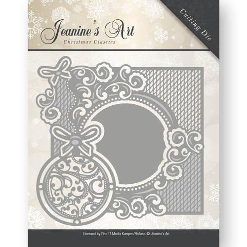 Die - Jeaninnes Art - Christmas Classics - Ornament frame