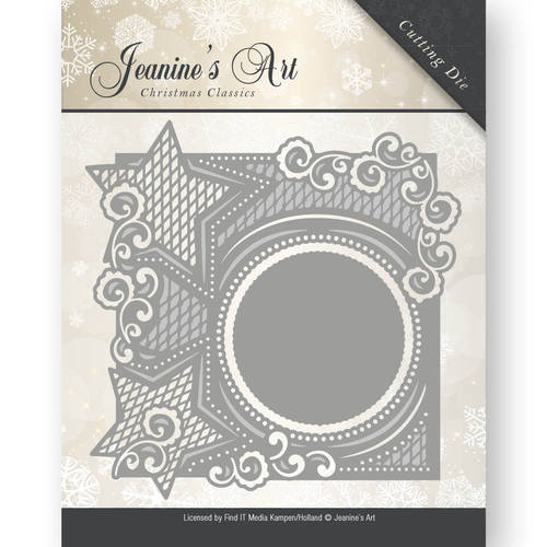 Die - Jeaninnes Art - Christmas Classics - Star frame