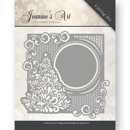 Die - Jeaninnes Art - Christmas Classics - Christmas tree frame