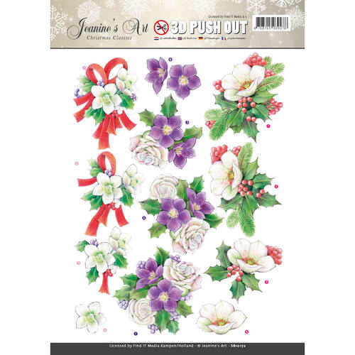 Pushout - Jeaninnes Art - Christmas Classics