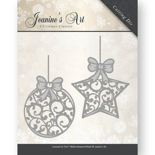 Die - Jeaninnes Art - Christmas Classics - Christmas ornaments