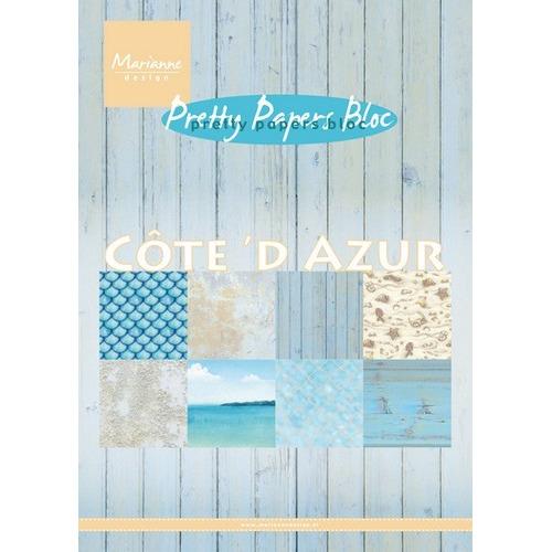 Marianne D Paper pad Cote d`Azur PK9146 15x21 cm (06-17)