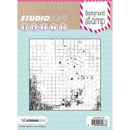 Studio Light Clearstempel A7 Basic nr 184   15x15cm STAMPSL184 (05-17)