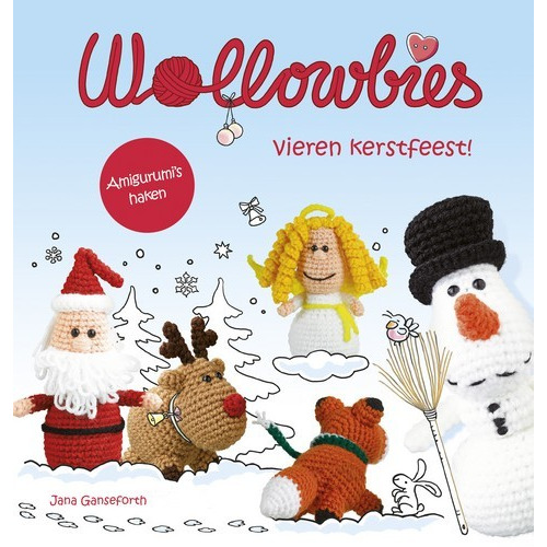 Kosmos Boek - Wollowbies vieren kerstfeest ! Ganseforth, Jana (07-17)