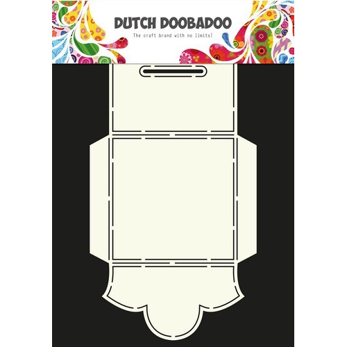Dutch Doobadoo Dutch Envelop Art Vierkant ornament A4 470.713.039 (06-17)