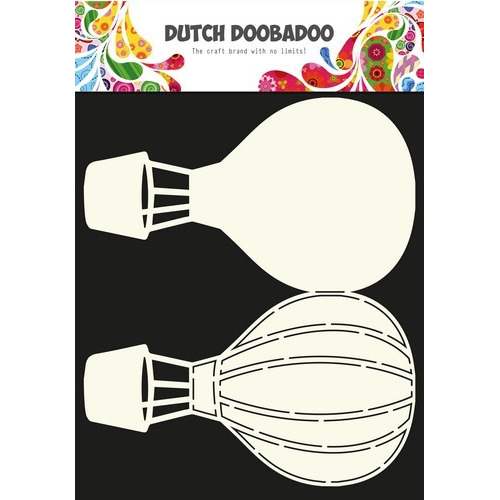 Dutch Doobadoo Dutch Card Art Stencil Luchtballon A4 470.713.630 (06-17)