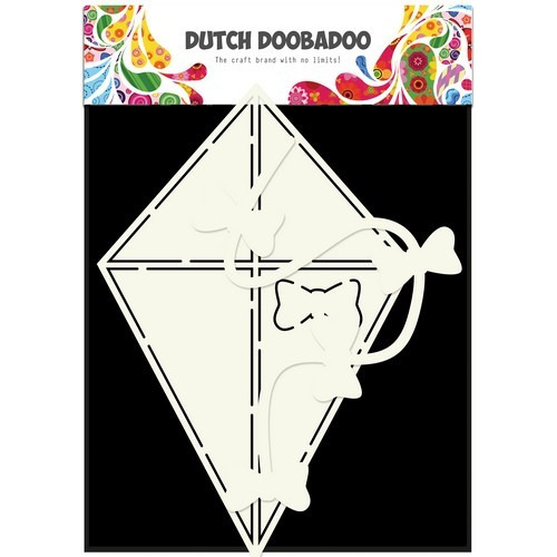 Dutch Doobadoo Dutch Card Art Stencil Vlieger A5 470.713.632 (06-17)