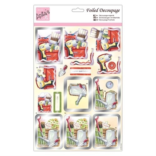 Foiled Decoupage - Tools