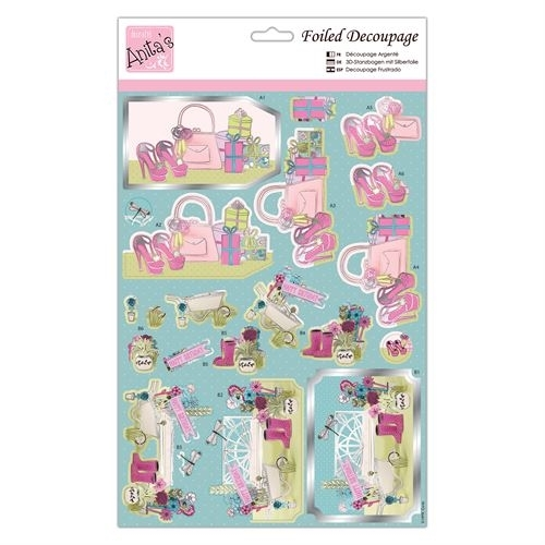 Foiled Decoupage - Girly Gifts