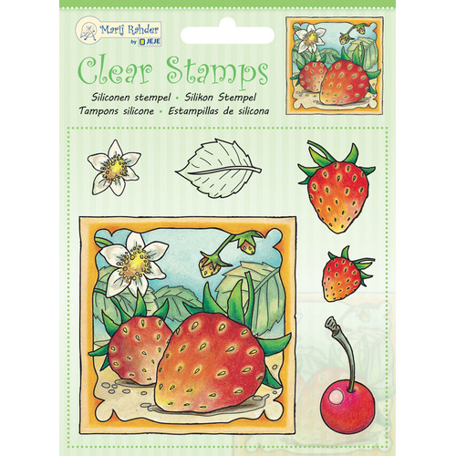 MRJ Clear Stamps Strawberry