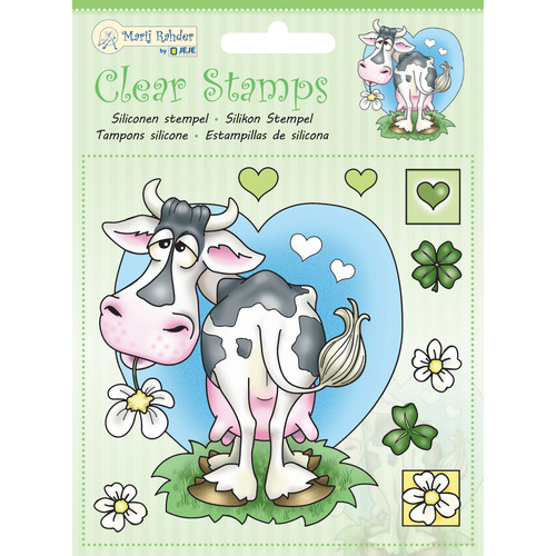 MRJ Clear stamps Cow