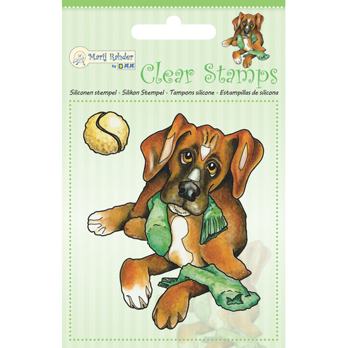 MRJ Clear Stamps Dog