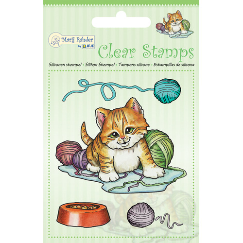 MRJ Clear Stamps Cat