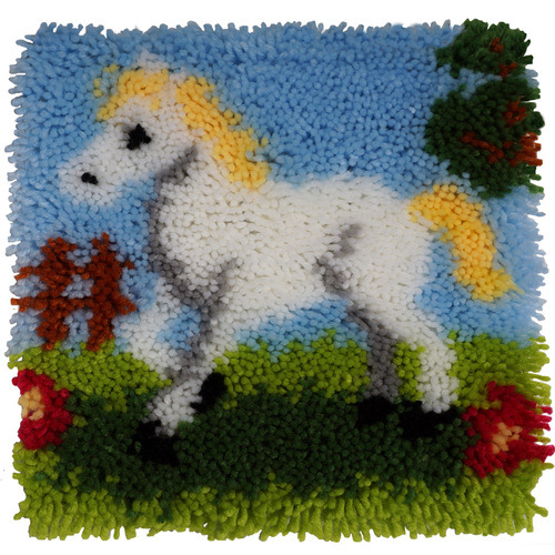 Latch Hook 30x30cm Pretty Pony