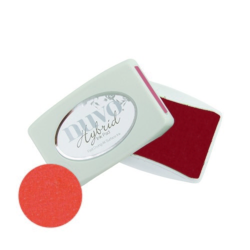 Nuvo ink pads - poppy red 214N