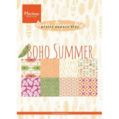 Marianne D Paper pad Boho Summer PK9148 15x21 cm (07-17)