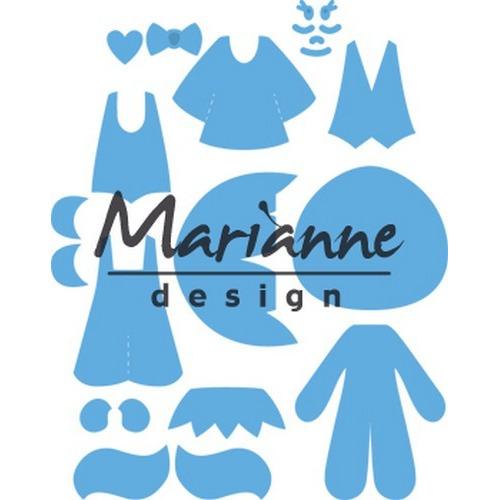 Marianne D Creatable Kim's Buddies LR0474 13,0x16,0cm (07-17)