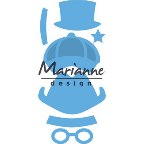 Marianne D Creatable Kim`s Buddies boy set LR0475 8,0x16,0cm (07-17)