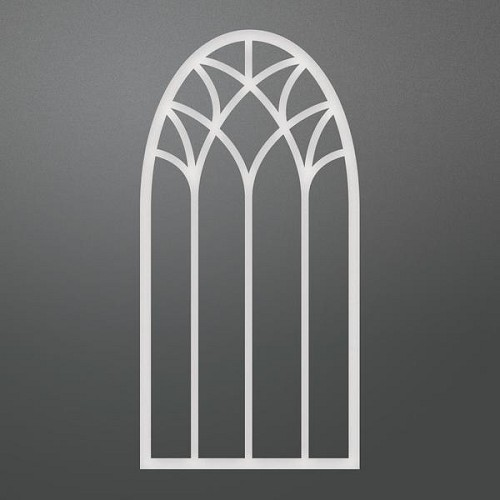 couture high arched window