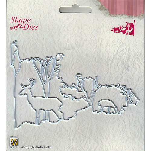 "Shape Dies ""Christmas window scene-2"""
