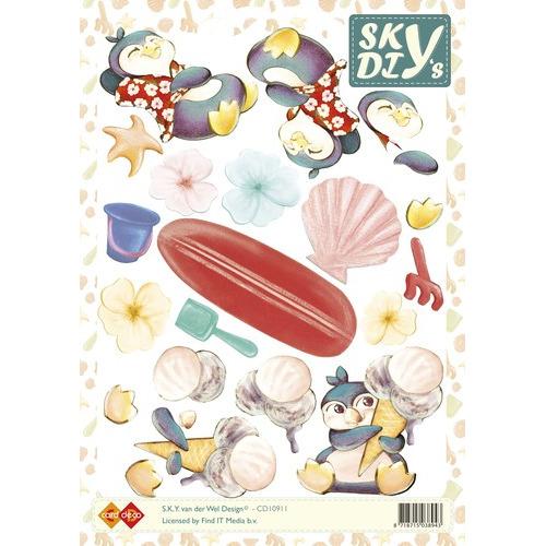 3D Knipvel - Sky -IJsje