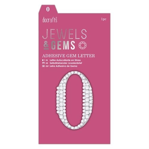 Adhesive Gem Number - 0 - Jewels & Gems
